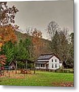 Cable Mill House Metal Print