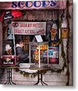 Cafe - Clinton Nj - The Luncheonette  Metal Print