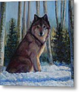 Captured By The Light Metal Print by Billie Colson