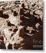 Castles Made Of Sand Metal Print by Xueling Zou