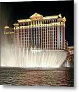 Ceasars Palace Metal Print by Charles Warren