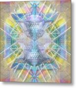 Chalice Of Vortexes Chalicell Rings On Renaissance Back Metal Print