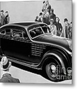 Chrysler Airflow Metal Print