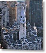City Hall Broad St And Market St Philadelphia Pennsylvania 19107 Metal Print