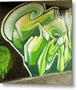 City Sponsored And Approved Graffiti Metal Print