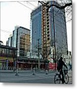 Cityscape 8 - Old And New Beijing Metal Print by Dean Harte