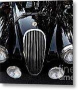 Classic Black Jaguar . 40d9322 Metal Print