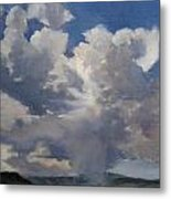 Cloudscape Metal Print by Victoria  Broyles