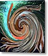 Color In Motion Metal Print by Virginia Bond