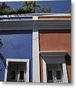 Colorful Architecture In Old San Juan Metal Print