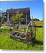Country Classic Paint Filter Metal Print