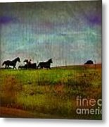 Country Wagon 2 Metal Print