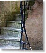 Curly Stairway Metal Print