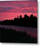 Dawn Glory Metal Print by Richard De Wolfe