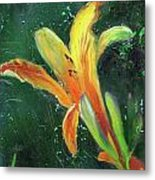Day Lily Number Two Metal Print