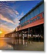 Daytona Sunrise Metal Print by Ryan Heffron