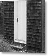 Doorway By The Sea Cape Cod National Seashore Metal Print by Michelle Wiarda