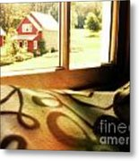 Dreams From The Window Seat Metal Print