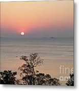 Easter Sunrise In Yorktown Metal Print by Marilyn West