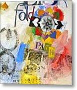 Eight Of Spades 30-52 Metal Print by Cliff Spohn
