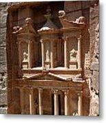 Elaborate Sandstone Temple Or Tomb Metal Print by Luis Marden