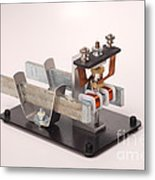 Electric Motor Metal Print by Ted Kinsman