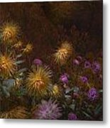 fall at Butchart Gardens Vancouver Island Metal Print by Jeff Burgess