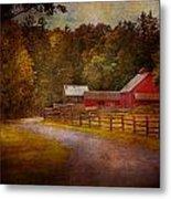 Farm - Barn - Rural Journeys  Metal Print by Mike Savad