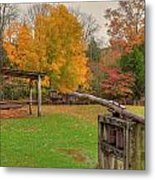 Farm Iv Metal Print by Charles Warren