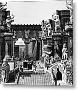 Film Set: Intolerance, 1916 Metal Print by Granger