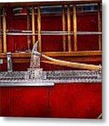 Fireman - Nice Axe  Metal Print by Mike Savad