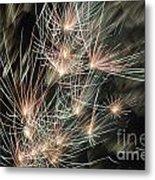 Fireworks On Bastille Day Metal Print