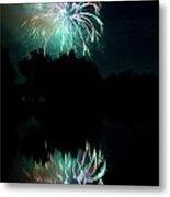 Fireworks On Golden Ponds. Metal Print by James BO  Insogna