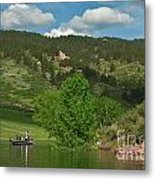 Fishing On Horsetooth Reservoir Metal Print