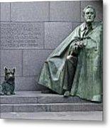 Franklin Delano Roosevelt Memorial - Washington Dc Metal Print by Brendan Reals