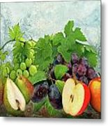 Fruit Garden Metal Print