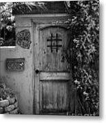 Garden Doorway 2 Metal Print