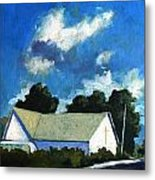 Glory Barn Metal Print by Charlie Spear