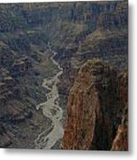 Grand Canyon-aerial Perspective Metal Print