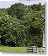 Grave Of Lafayette Meeks Appomattox Virginia Metal Print