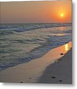 Grayton Beach Sunset 5 Metal Print by Charles Warren