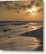 Grayton Beach Sunset Metal Print by Charles Warren