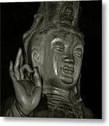 Guan Yin Bodhisattva - Goddess Of Compassion Metal Print