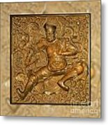 Guardian Warrior - It Can't Hurt To Have Your Own Metal Print by Christine Till