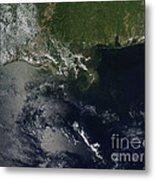 Gulf Oil Spill, April 2010 Metal Print by Nasa