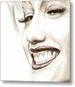 Gwen Stefani Metal Print