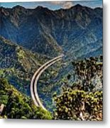 H-3 From The Aiea Loop Trail Metal Print