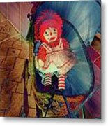 Happy Dolly Metal Print