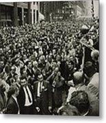 Harry Belafonte B. 1927 Speaking At An Metal Print