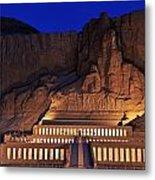 Hatshepsuts Mortuary Temple Rises Metal Print